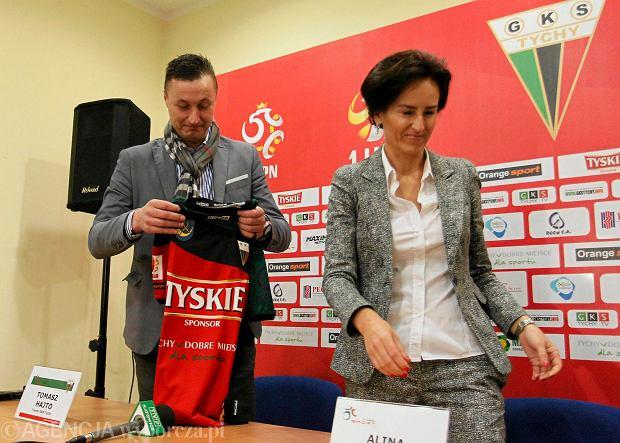 GKS Tychy bez prezesa. Alina Sowa zrezygnowała