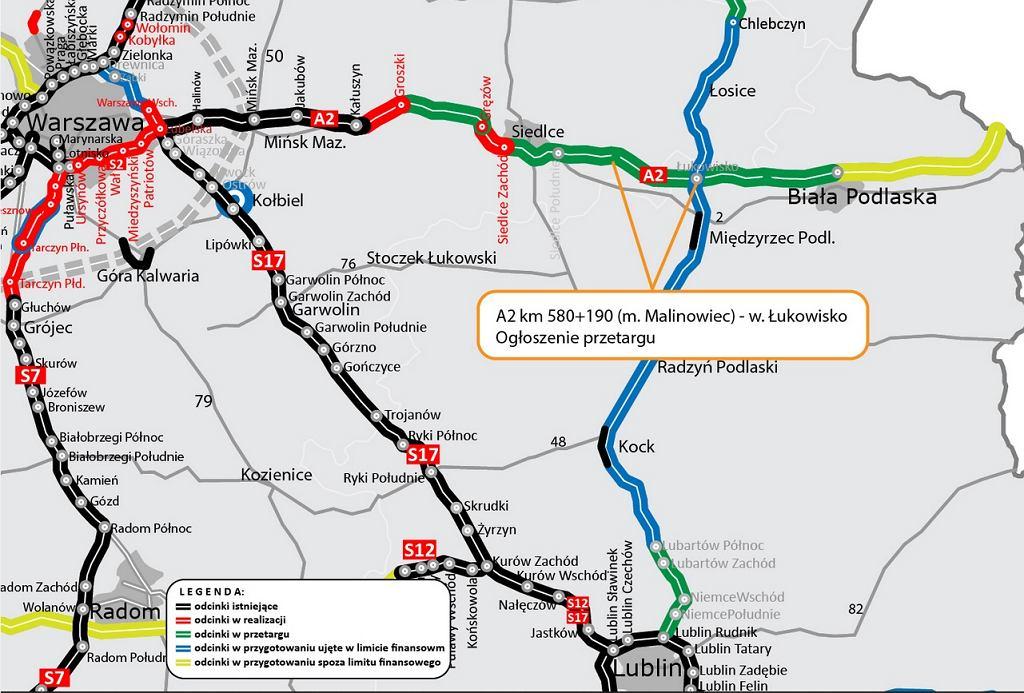 Autostrada A2 połączy się z Via Carpatia
