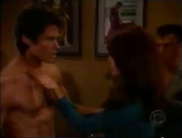 Ridge i Brooke przyłapani w windzie
