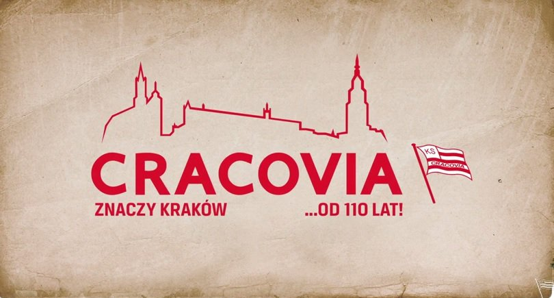 Kadr ze spotu promocyjnego Cracovii