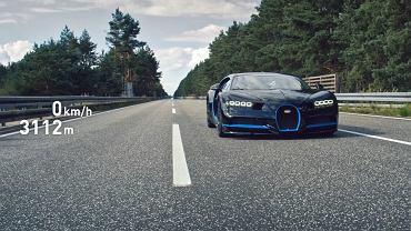 Bugatti Chiron po jeździe testowej