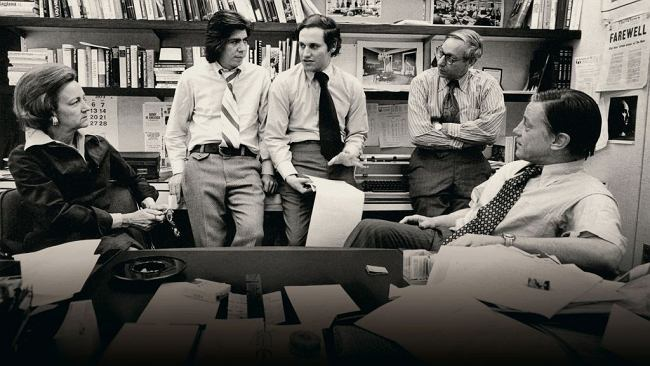 Zemsta Watergate. O reporterach, którzy obalili prezydenta