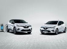 Renault Clio E-Tech i Captur E-Tech. Francuzi pokazali hybrydy, jedna przejedzie 50 km na samym prądzie