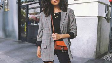 spodnie kolarki stylizacja