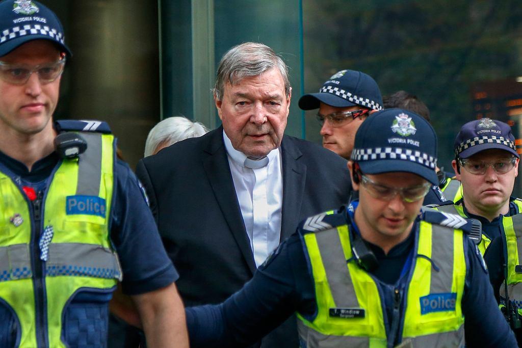 Kardynał George Pell skazany na 6 lat za przestępstwa seksualne wobec małoletnich