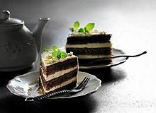 Torcik z musem herbacianym - ugotuj