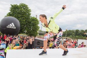 Ewa Chodakowska to super babka! [Relacja z treningu adidas + #mygirls]