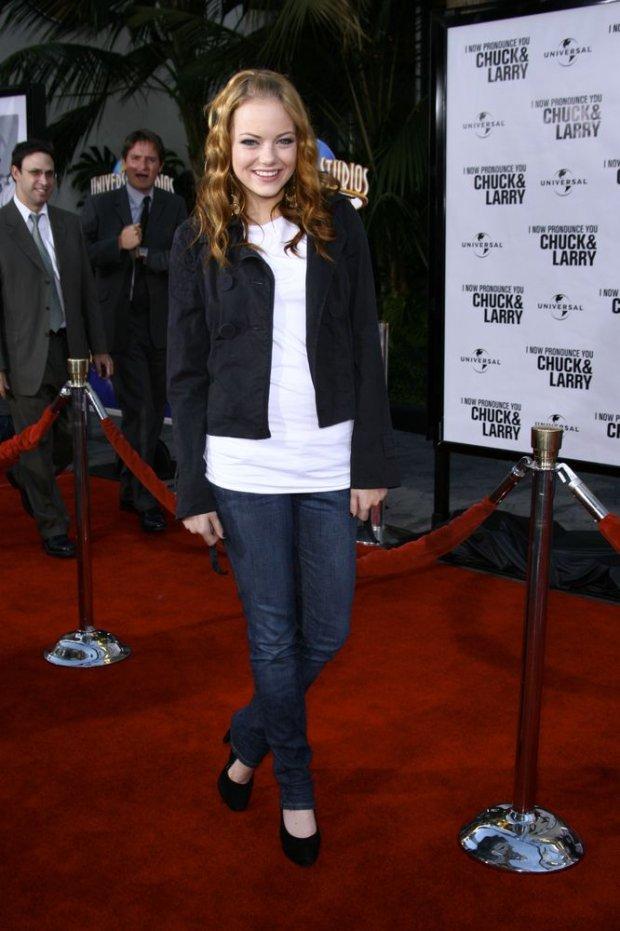 Emma Stone w 2007 roku
