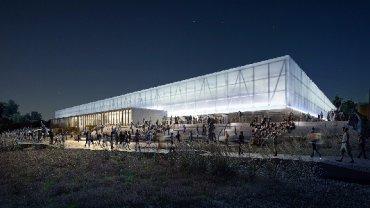 Zwycięski projekt nowego stadionu miejskiego w Olsztynie