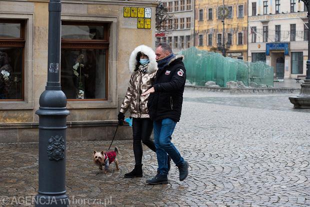 Zdjęcie numer 25 w galerii - Tłumy na Rynku we Wrocławiu. Spacery z jedzeniem na wynos i puszczanie baniek