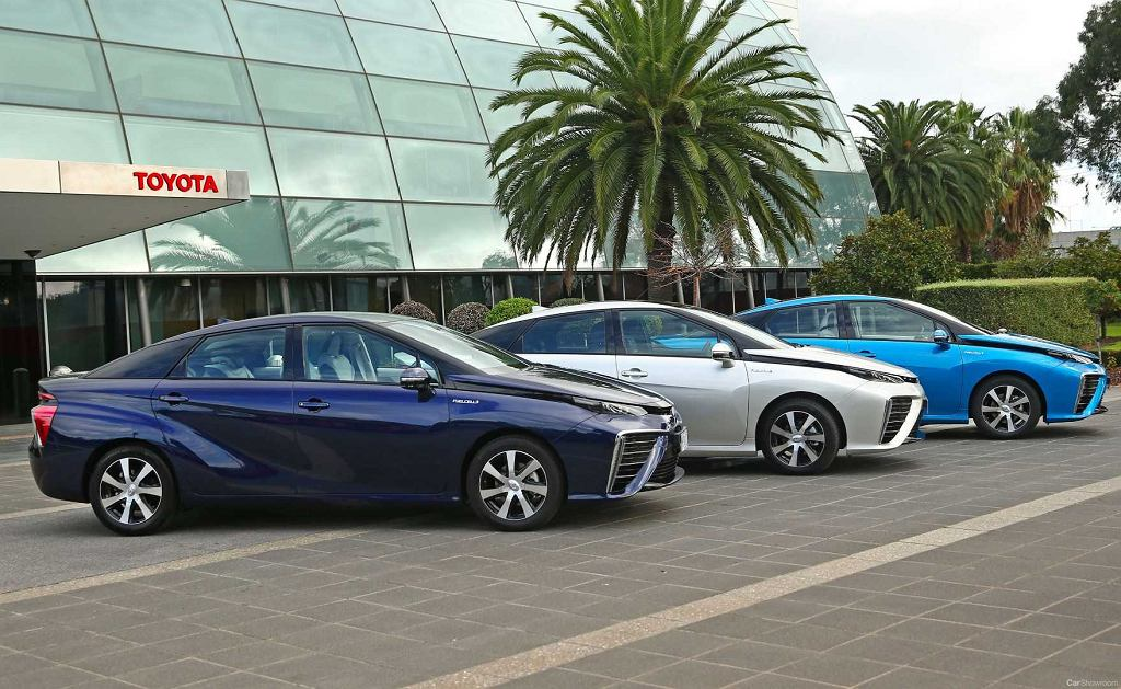 Toyota Mirai w Australii