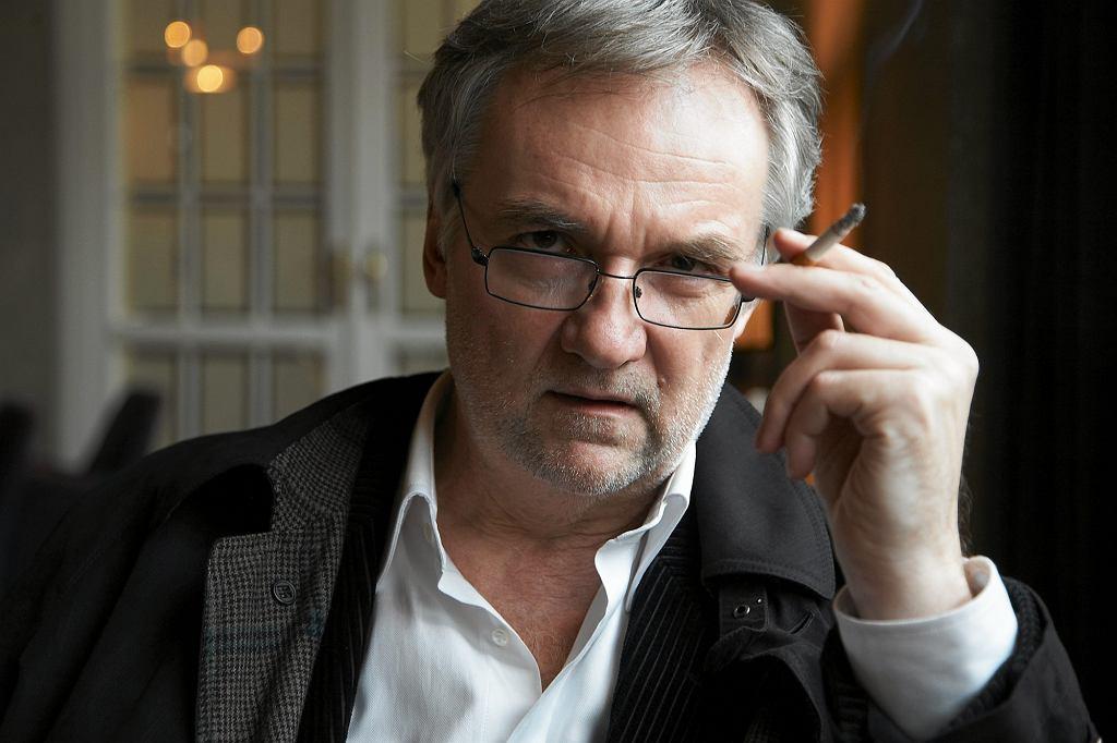 W 2012 r. pisarz ujawnił, że cierpi na chorobę Parkinsona (fot. Michał Mutor / Agencja Gazeta)