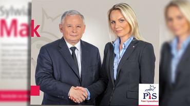 Plakat wyborczy Sylwii Matusiak