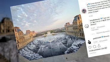 W okolicy piramidy przed muzeum w Luwrze powstała wyjątkowa instalacja artystyczna. W zaledwie dobę zniszczyli ją turyści
