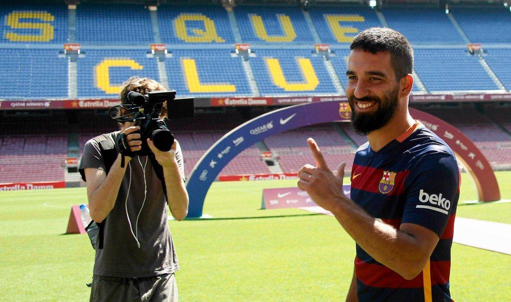 Arda Turan na Camp Nou