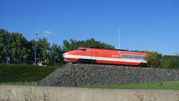 Jeden z pierwszych składów TGV
