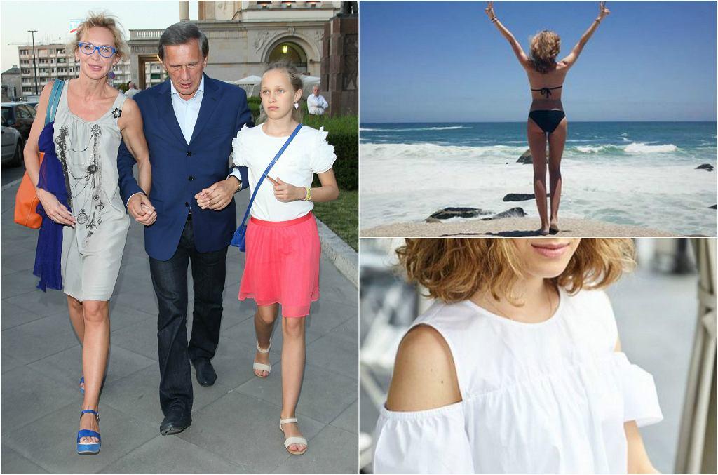 Helena Englert, córka Jana Englerta i Beaty Ścibakównej, została aktorką. Właśnie otrzymała rolę w serialu