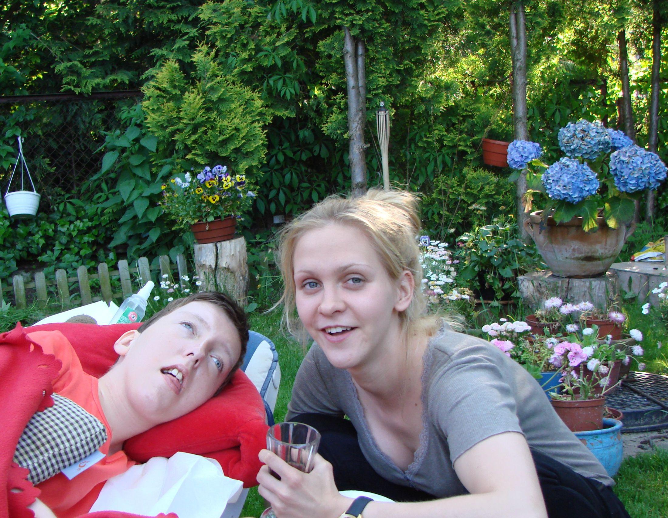 Siostry: Ola i Marianna (fot. archiwum prywatne Ewy Błaszczyk)