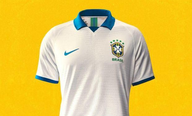 Nowe koszulki reprezentacji Brazylii