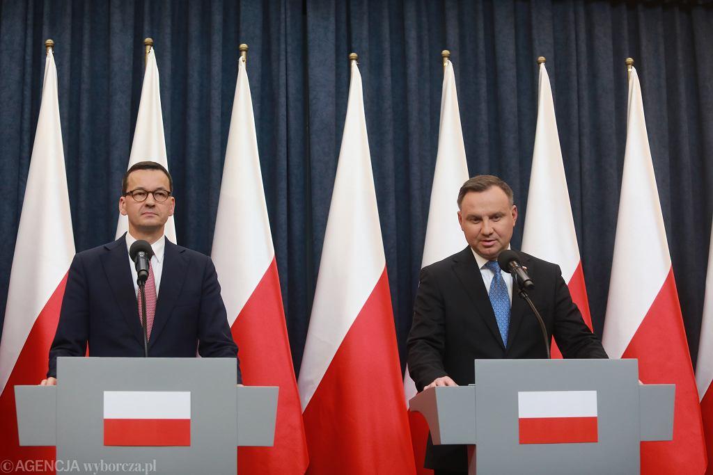 Oswiadczenie prezydenta Andrzeja Dudy w sprawie dotacji dla telewizji i radia