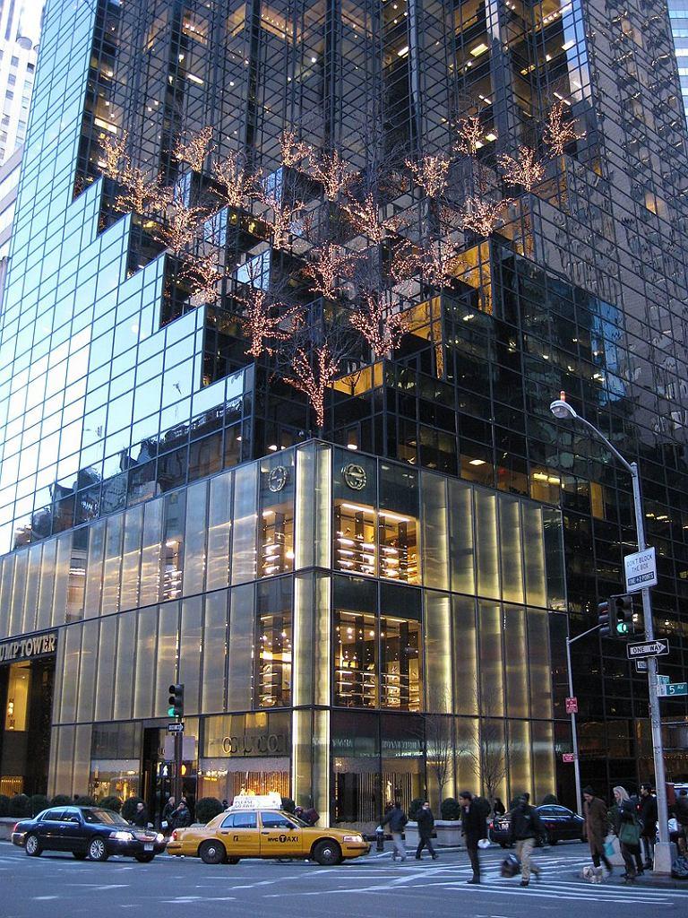 Fasada Trump Tower