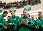 Prezentacja zespołu Lechii przy okazji meczu z Schalke