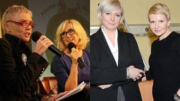 Schymalla Iwona i Joanna Racewicz, Ewa Błaszczyk, Agata Młynarska.