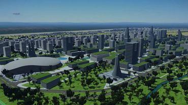 Wizualizacja Nowego Miasta