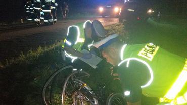 Tragiczny wypadek między Lginiem a Radomyślem. Nie żyje 13-latka