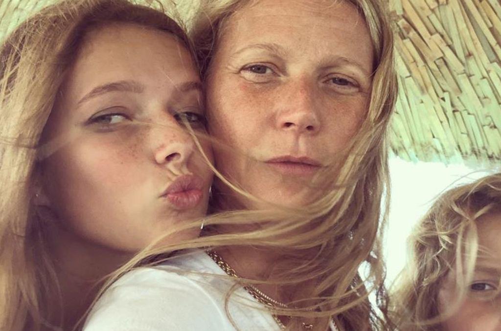 Gwyneth Paltrow z córką