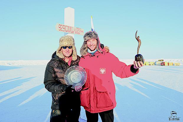 Pierwsze polskie zwycięstwo w North Pole Marathon.