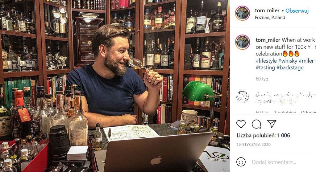 Tomasz Miler - koneser whisky