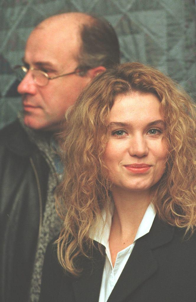 Joanna Trzepiecińska i Piotr Machalica w 1989 roku