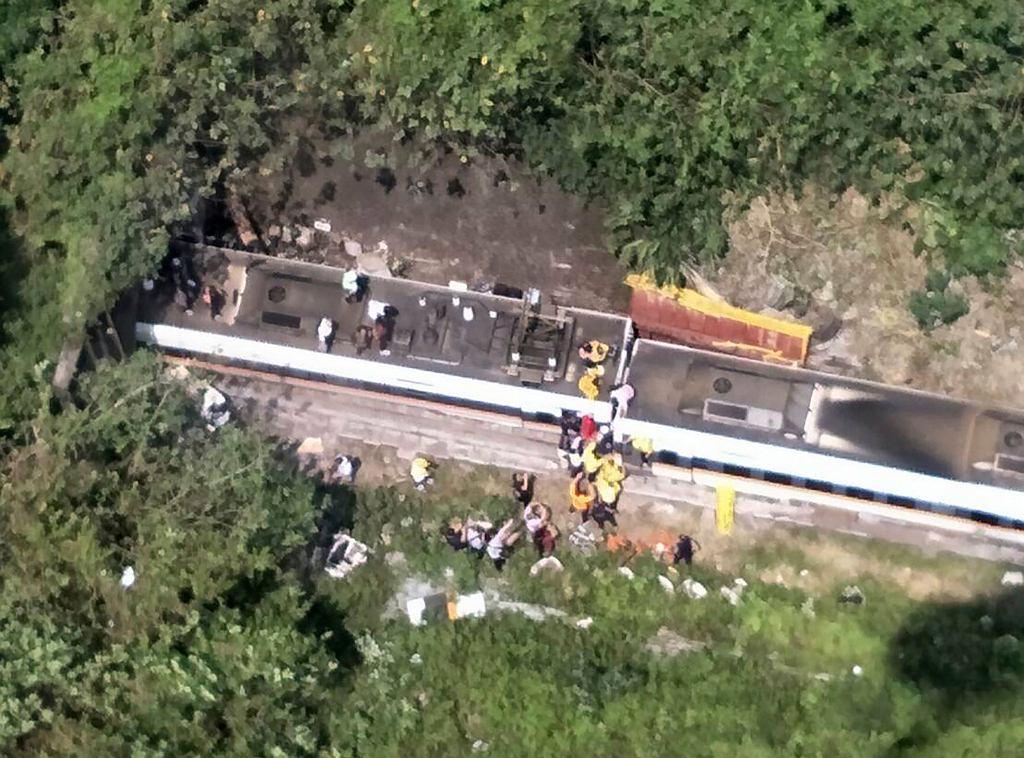 Tajwan. Katastrofa pociągu. Nie żyje co najmniej 36 osób