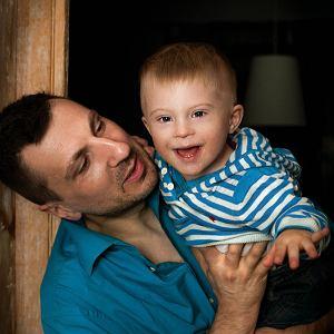 Kobas Laksa z synem Jonatanem
