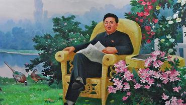 Plakaty propagandowe w Korei Północnej