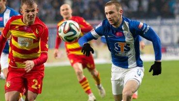 Lech Poznań - Jagiellonia Białystok 2:0. Szymon Pawłowski