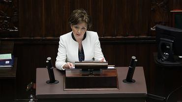 Minister rodziny, pracy i polityki społecznej Marlena Maląg