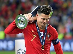 14ff8a42d Cristiano Ronaldo odpowiedział na pytanie, czy zdobędzie Złotą Piłkę.