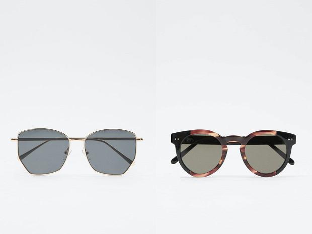 Modne okulary zara