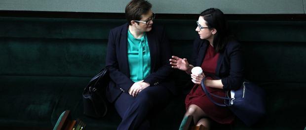 Katarzyna Lubnauer i Kamila Gasiuk-Pihowicz