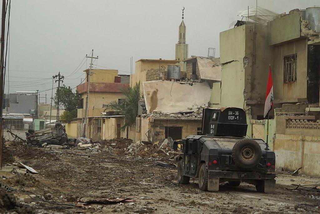 Zniszczenia wojenne w Mosulu