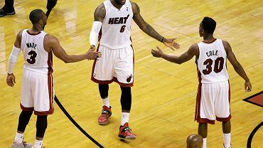 Miami Heat - Indiana Pacers w meczu nr 4 finałów Konferencji Wschodniej