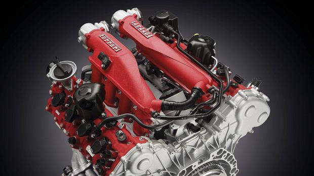 Turbodoładowany silnik V8 Ferrari
