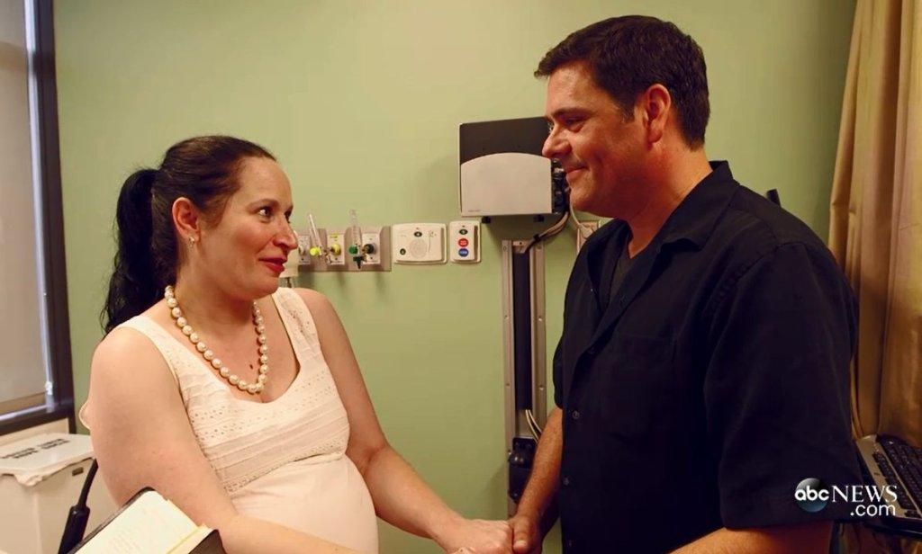 Ślub amerykańskiej pary na porodówce