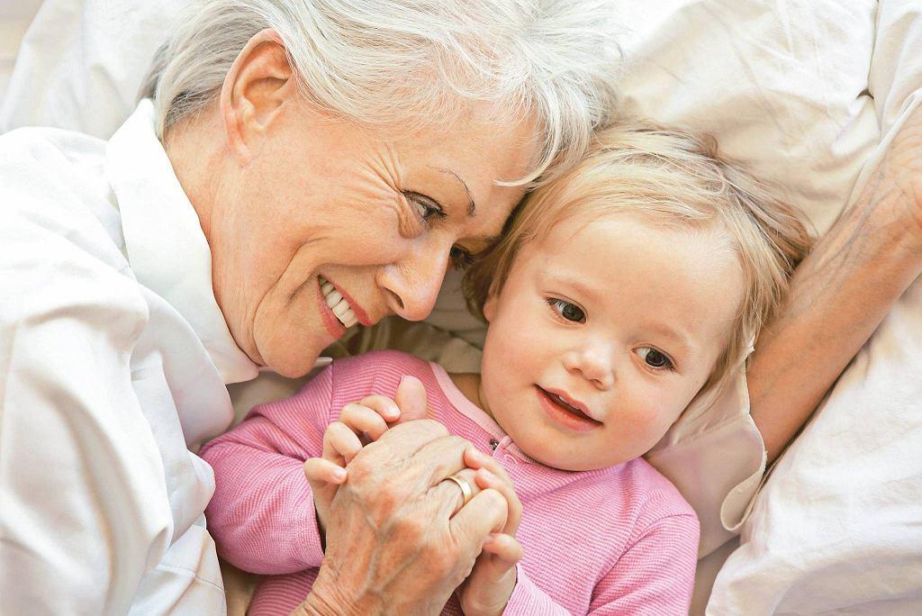 Babcia w roli opiekunki