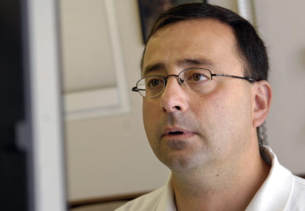Dr Larry Nassar, były lekarz amerykańskiej kadry gimnastyczek