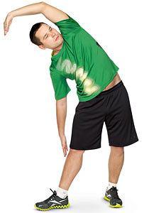 ćwiczenia, Ćwiczenia: rozgrzewka idealna, Rozciągnij boki, plecy i tyły nóg