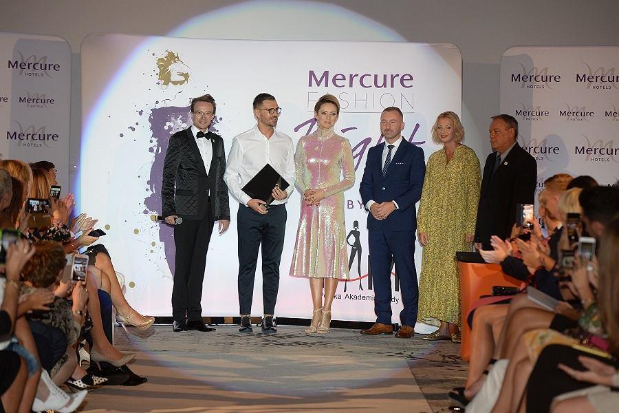 Mercure Fashion Night, wrzesień 2018, Dominik Górny, Maciej Zień, Dorota Gardias