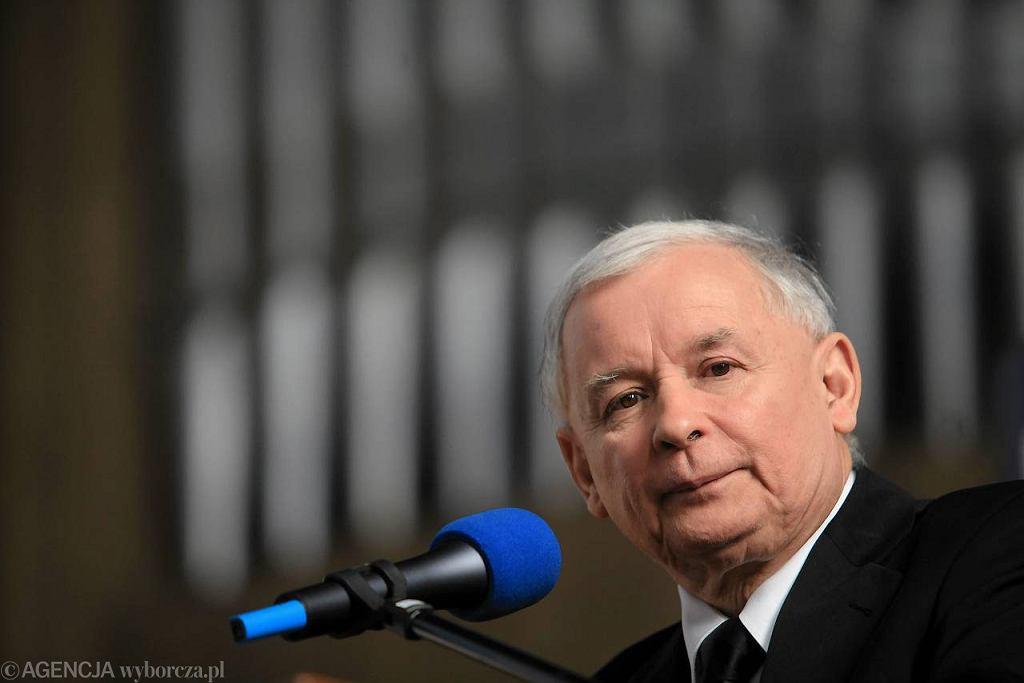 Jarosław Kaczyński we Wrocławiu. 8 grudnia 2012